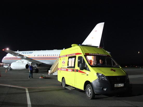Тяжелобольного ребенка из Карелии доставили в Нижний Новгород