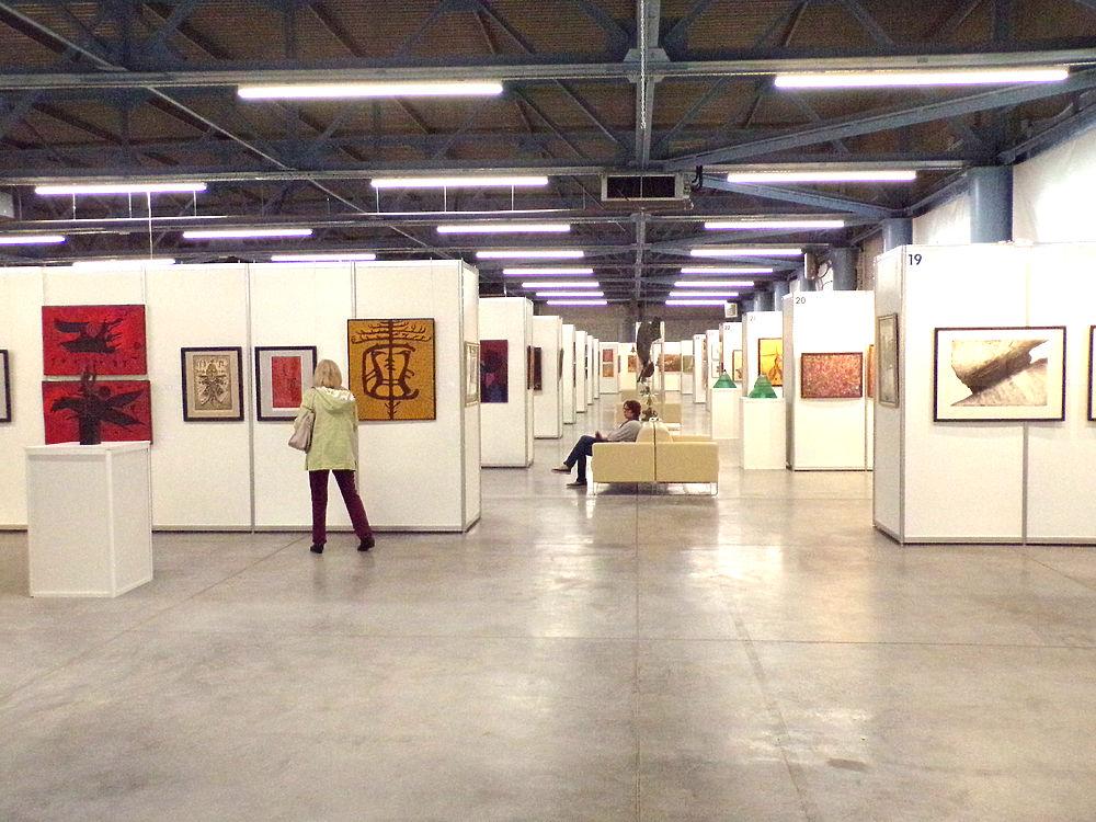 1100 работ  художников от Урала до Владивостока