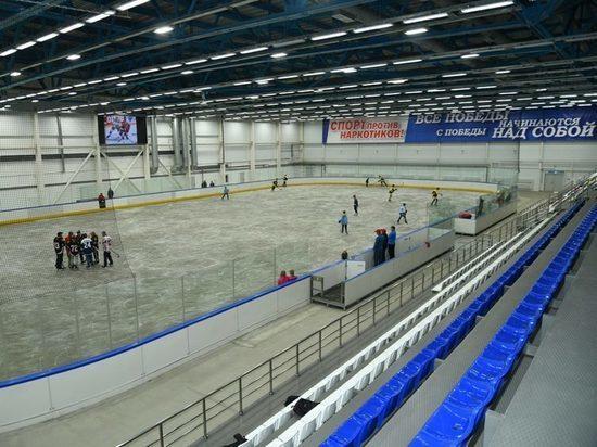 Первый ледовый дворец открыли в Республике Алтай