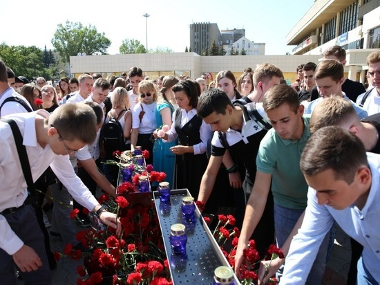 Митинг в память о жертвах терроризма прошел в Ставрополе