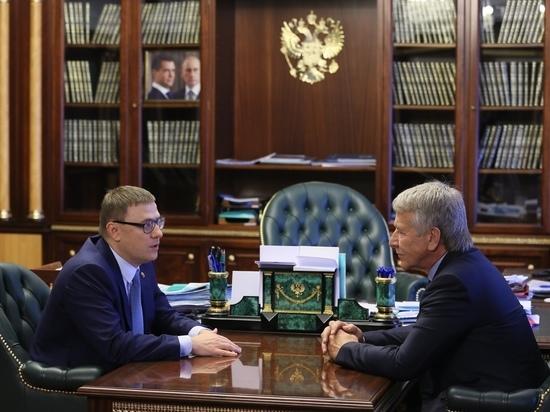 Алексей Текслер подписал соглашение о сотрудничестве с ПАО «Новатэк»