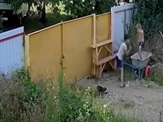 Два подростка стали звездами соцсетей, угнав садовую тачку в Белореченске