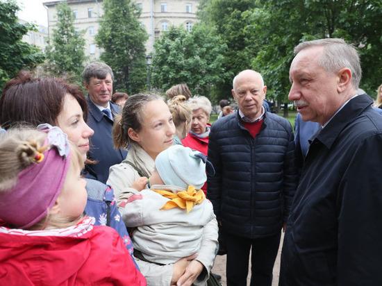 Решения и обещания врио губернатора Петербурга