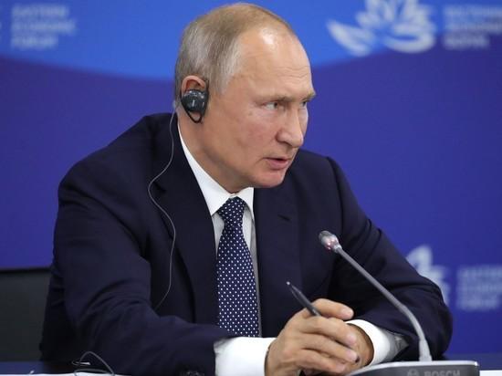 Путин назвал придурками тех, кто считал Дальний Восток ненужным