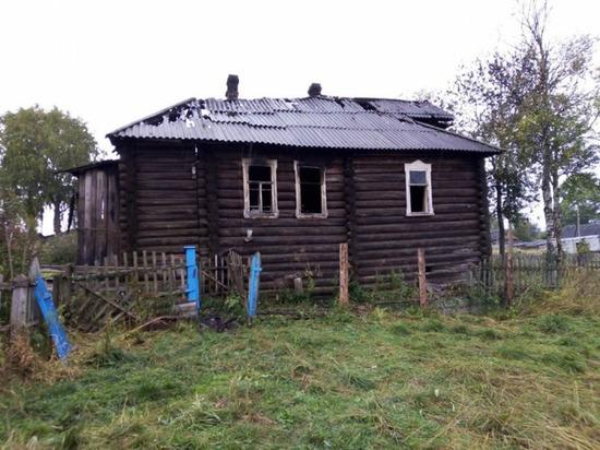 Очередной непотушенный окурок стал причиной гибели человека в Архангельской области