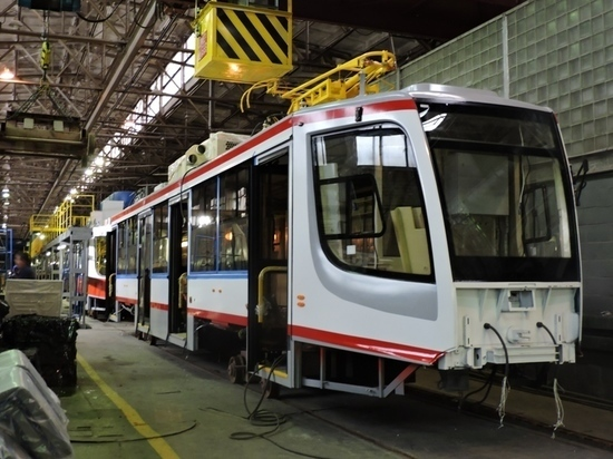 В Челябинске появился новый современный трамвай
