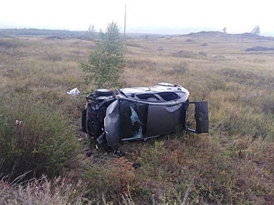 46-летняя автоледи из Башкирии погибла, съехав в кювет