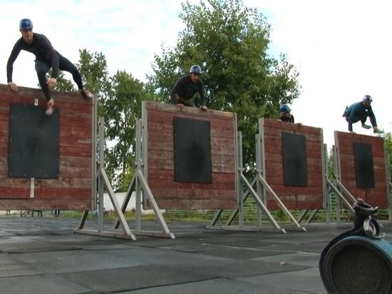 В Алтайском крае прошел турнир по пожарно-спасательному спорту