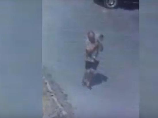 В Орске разыскивается похититель металлолома