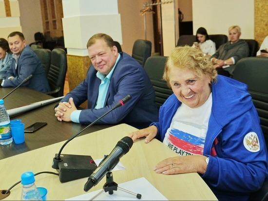 Звезды российского спорта посетили Бийск