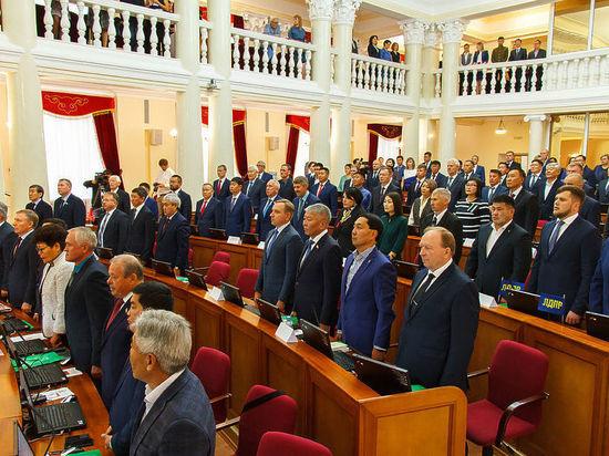 После выборов Народный Хурал Бурятии проведет внеочередную сессию
