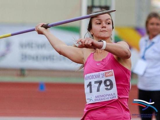 Воронежская копьеметательница стала чемпионкой России