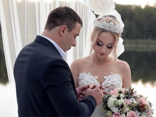 Пара из Брянска поженилась в реалити-шоу «Четыре свадьбы»