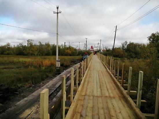 Пешеходный мост на Пирсах откроют в эту субботу