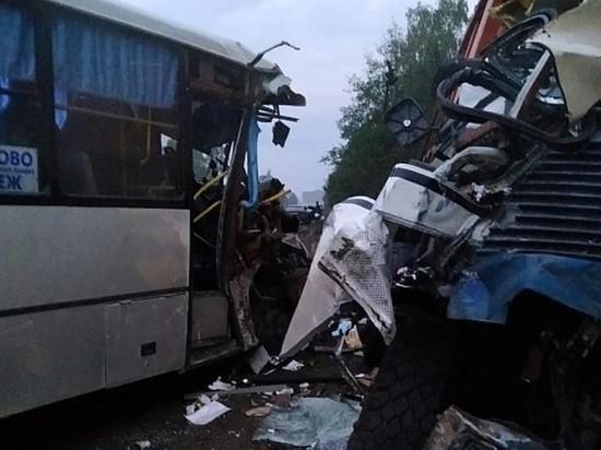 В Ивановской области произошло ДТП с десятью пострадавшими