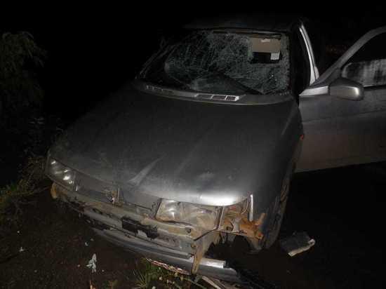 В Медногорске произошла авария, в которой пострадали два пешехода