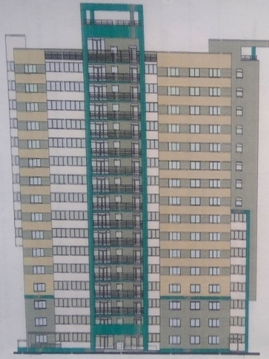 В Барнауле восстановили замороженный проект многоэтажки