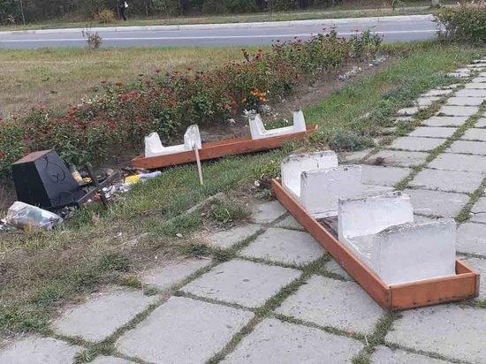 В Бурятии во второй раз осквернили памятник воинам-северобайкальцам