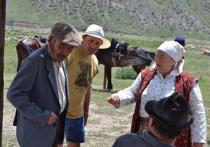 Нина Усатова уехала в аул ради роли чабанской вдовы