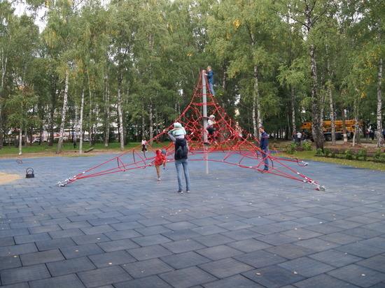 Благоустройство парка имени Пушкина закончат до 10 сентября