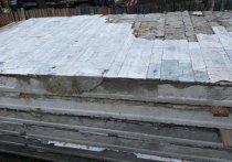 Плиты с именами погибших в Великой Отечественной продали на стройматериал