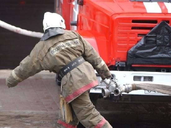 В Тамбовской области годовалый малыш получил серьезные ожоги на пожаре