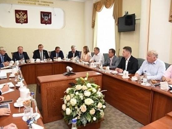 В Ростове председатель областного Заксобрания дал наказы представителям региона в Госдуме