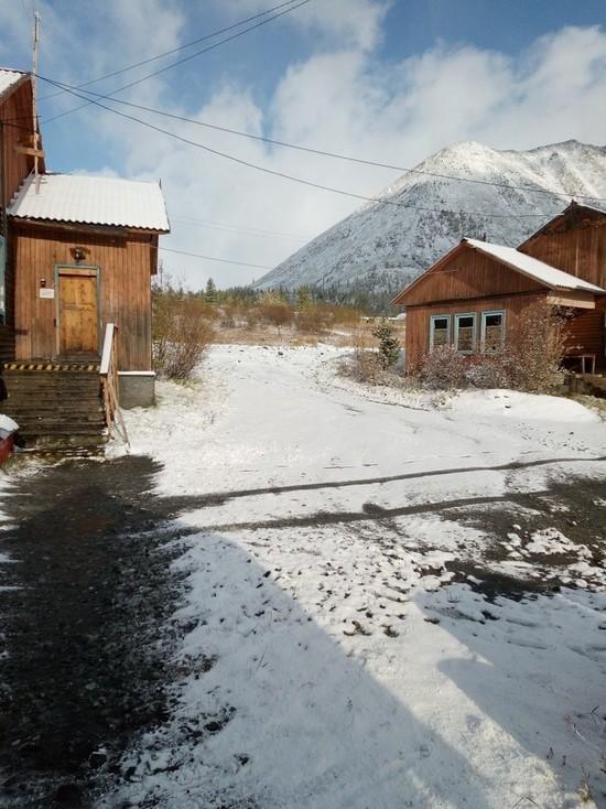 В районе Бурятии сегодня выпал снег