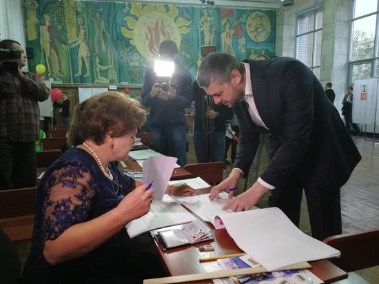 Осипов проголосовал в Чите и рассказал, что нагрянет в муниципалитет