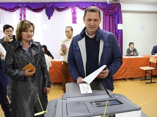 Глава Бурятии пришел на выборы без паспорта – забыл дома