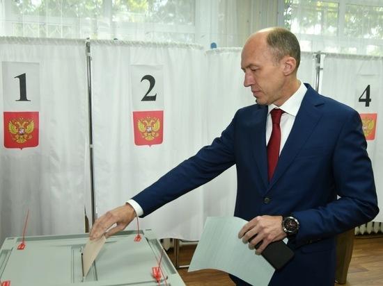 Врио главы Республики Алтай отдал свой голос за кандидата в губернаторы