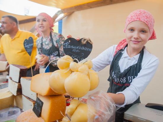 В «Фестивале сыра» в Иванове приняли участие сыроделы из Италии