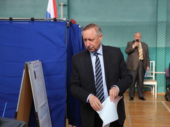 Александр Беглов и Надежда Тихонова уже проголосовали за выборах главы Петербурга