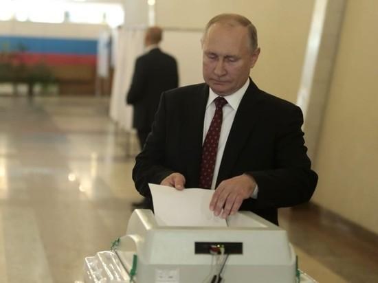Путин проголосовал на выборах в Москве