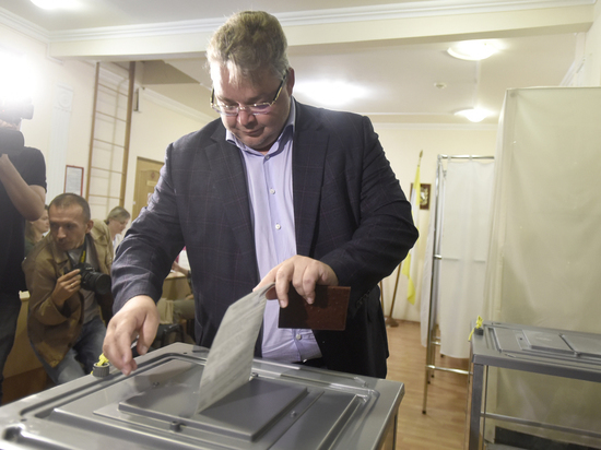 Владимиров проголосовал на выборах губернатора Ставропольского края