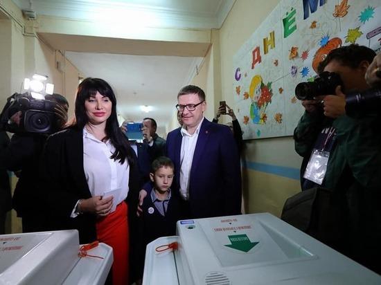 Первые лица Челябинской области проголосовали на выборах
