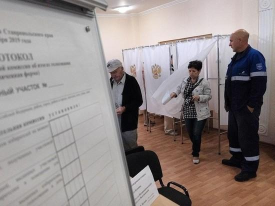 На Ставрополье к полудню проголосовали почти четверть избирателей