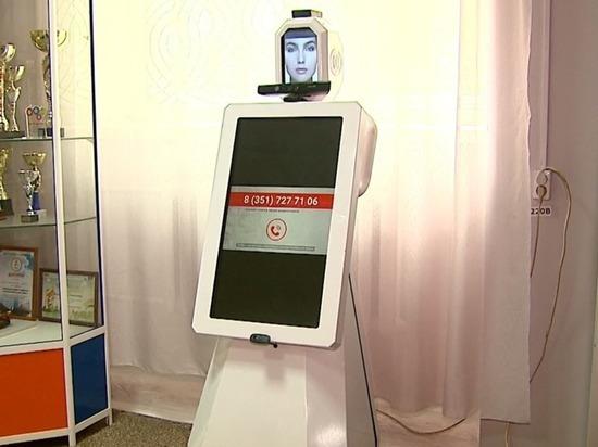 На участке № 711 в Металлургическом районе избирателей встречает робот
