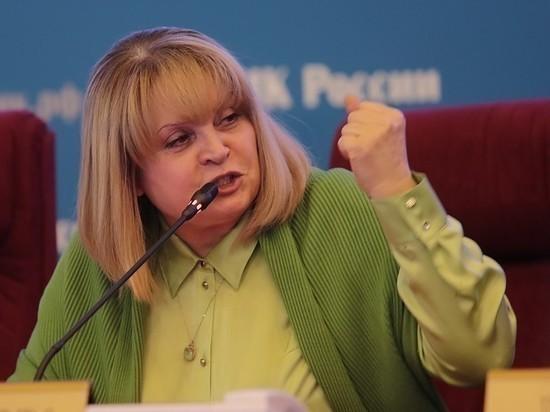 Памфилова объявила голосование на выборах 8 сентября завершенным