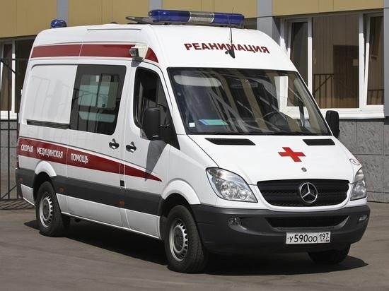 В центре Москвы автомобиль сбил инвалида-колясочника