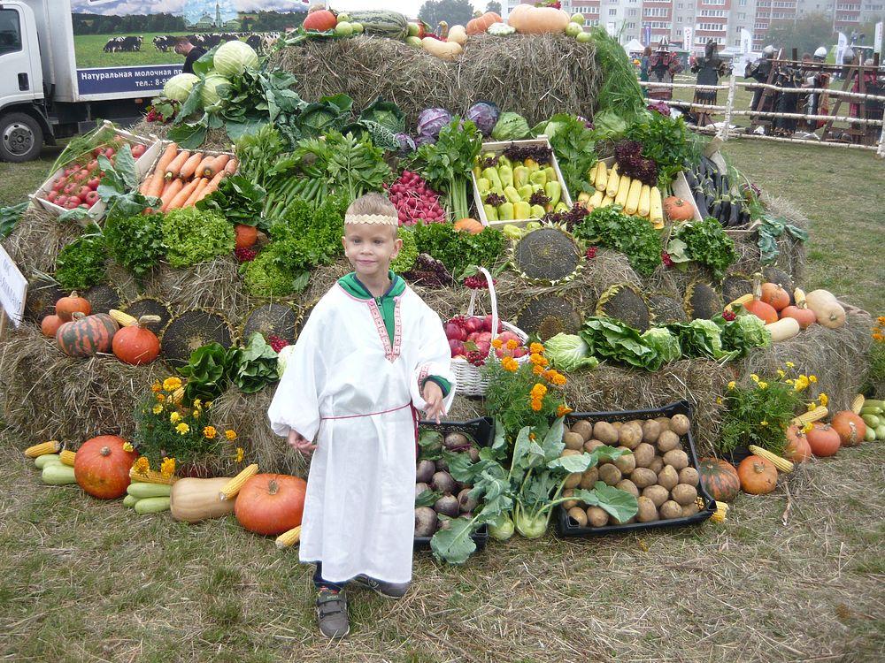 В Рязани прошел праздник урожая «Спожинки»