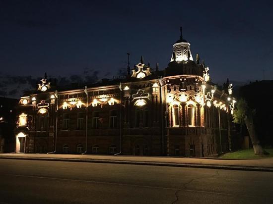 Архитектурно-художественная подсветка украсила дом купца Васенева