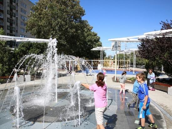 В Ставрополе работу фонтана в новом сквере будут регулировать отдыхающие