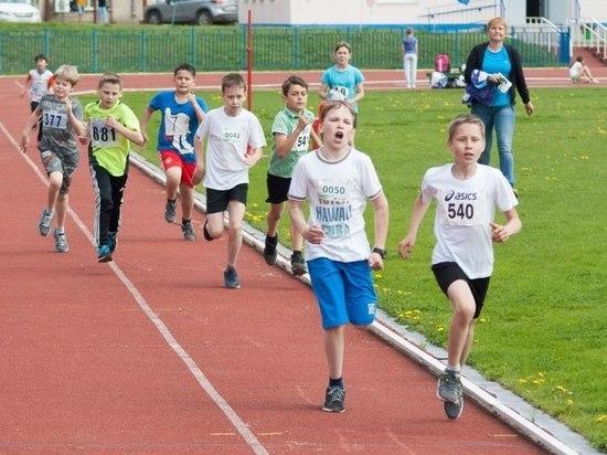 В Хакасии легкоатлеты боролись за медали в «Шиповке юных»