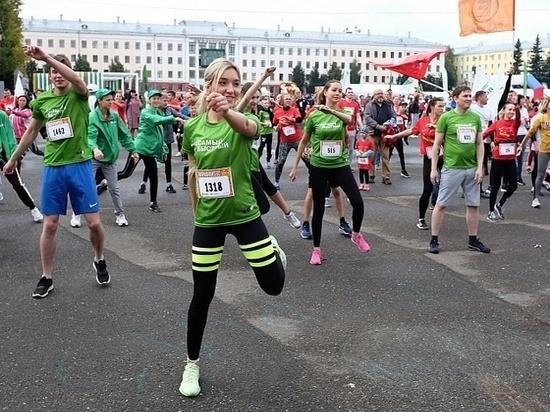 Тысячи людей пробежали по Кирову
