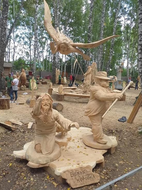 Воронежские резчики по дереву победили на международном фестивале в Томске