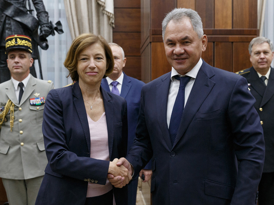Главы Минобороны России и Франции Шойгу и Парли обсудили сотрудничество
