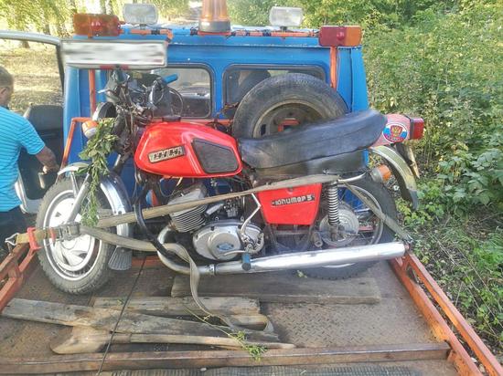 В Тамбовской области погиб мотоциклист