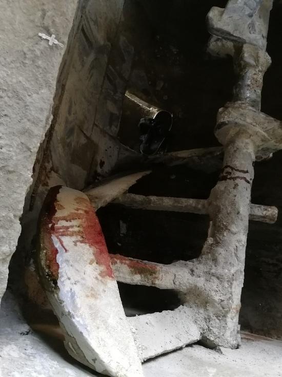 На Ставрополье рабочий упал в бетономешалку