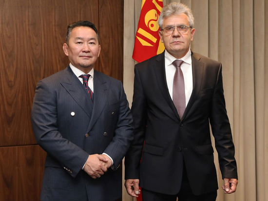 Президент Монголии предложил президенту РАН создать новое Евразийское патентное агентство
